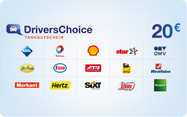 Drivers Choice 20 Euro